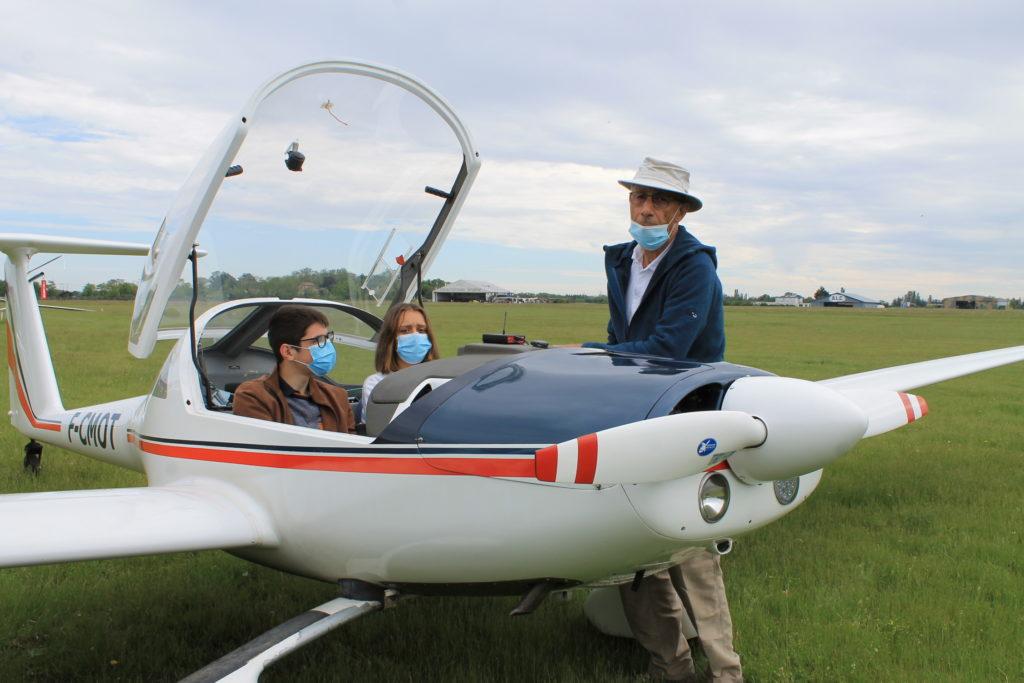 Présentation d'un motoplaneur